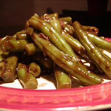 Zesty Glazed Green Beans