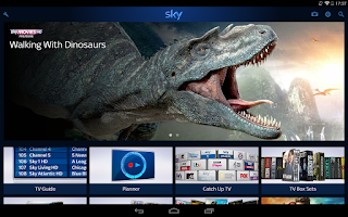 Screenshot of Sky+