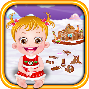 Baby Hazel Gingerbread House- screenshot