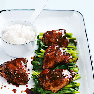 Sticky Roasted Thai Chicken