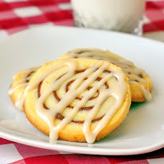 Orange Cinnamon Roll Cookies