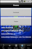 Screenshot of Sugar Water Radio
