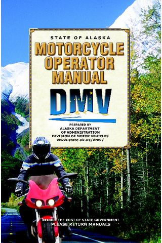 Alaska Motorcycle Manual