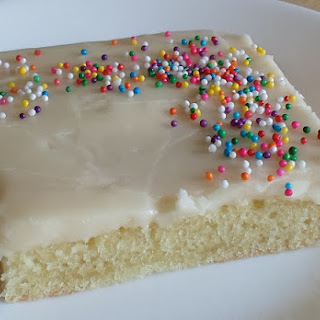 Grammy's White Sheet Cake