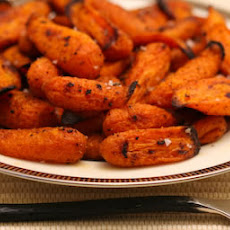 Roasted Carrots with Moroccan Spice Mix