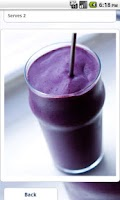 Screenshot of Smoothies