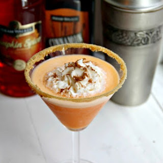Pumpkin Cheesecaketini