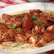 Linda's Spicy Lobster Linguine