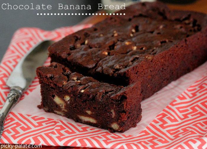 Chocolate Banana Bread with Marshmallow Bits Recipe | Yummly