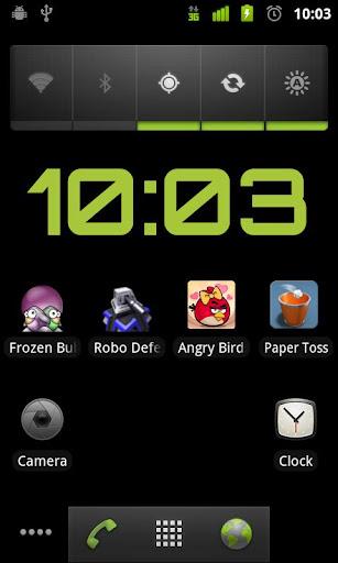 玩個人化App|乾淨的時鐘免費|APP試玩