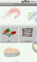 Screenshot of Calorie Calculator Pro