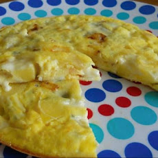 Apple Gorgonzola Frittata