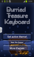 Screenshot of Buried Treasure Keyboard