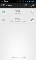 Screenshot of Simple Alarm Clock Free No Ads