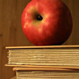 Apple  by Hannah Humbert - Food & Drink Fruits & Vegetables ( apple,  )