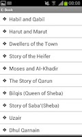 Screenshot of Quran Stories