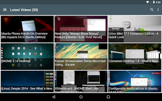Screenshot of WebUpd8 - Ubuntu / Linux News