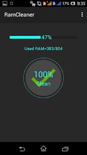 RAM Cleaner - screenshot