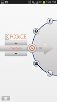 Screenshot of Kforce