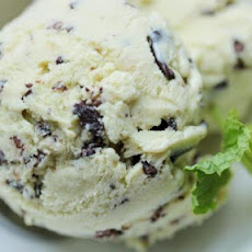 Isaac Mizrahi's Mint Chocolate Chip Ice Cream