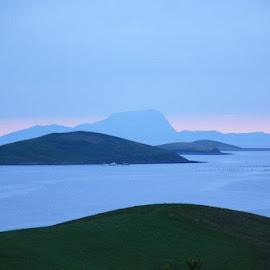 Blue Isles of Ireland by Jo Ann Kuball - Landscapes Underwater (  )