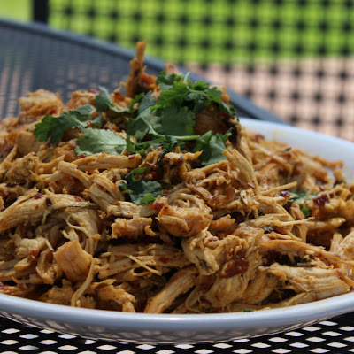 Spicy Shredded Grilled Chiptole Chicken