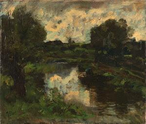 RIJKS: Jacob Maris: painting 1892