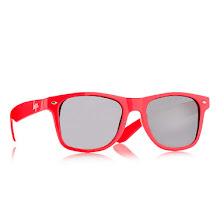 Hype Red Wayfarers sunglasses*