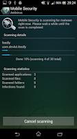 Screenshot of Mobile Security