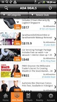 Screenshot of AllDealsAsia All Deals ADA app