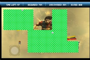 Screenshot of Messi