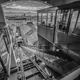 funicular by Eseker RI - City,  Street & Park  Street Scenes (  )