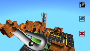 Screenshot of Marble Run 3D