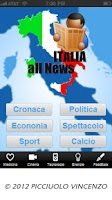 Screenshot of ITALIA all News