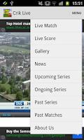 Screenshot of CRIK LIVE - Live Cricket