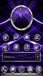 CrystalX HD Multi Theme Purple - screenshot