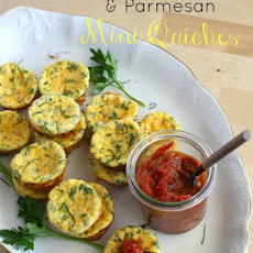 Butternut Squash & Parmesan Crustless Mini Quiches