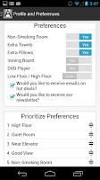 Screenshot of Archipelago Hotels Membership