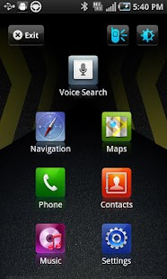 Samsung Car Home - screenshot