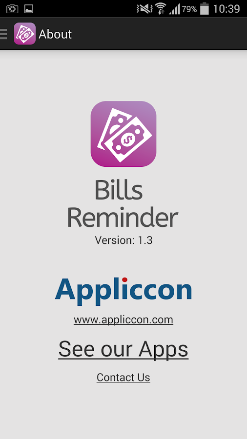 Bills Reminder PRO Screenshot 4