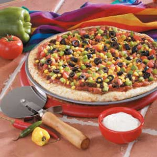 Mexican Vegetable Pizza