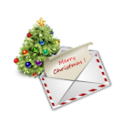 Christmas SMS icon