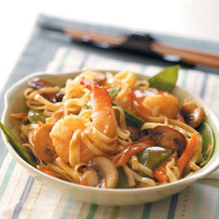 Thai Shrimp Linguine
