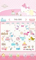 Screenshot of Hello Kitty Lady Diary