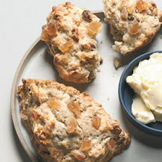 Ginger-Pecan Scones