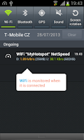 Screenshot of NetSpeed: Mobile/WiFi