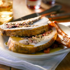 Turkey Breast Stuffed with Sausage, Fennel, and Golden Raisins