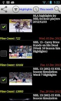 Screenshot of Hockey News Plus 2014
