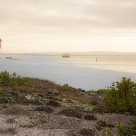 Shipwatch by Charl Myburgh - Landscapes Travel