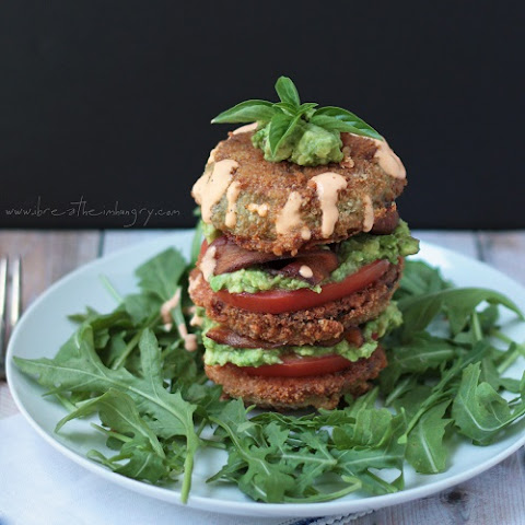 Fried Green Tomato BLT Salad – Low Carb and Gluten Free